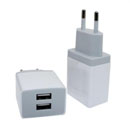 TC167-Square Dual USB Wall Charger
