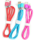 Round TPE USB Cable with Multiple Colors-I6G203