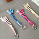 2 in 1 Braided Keyring USB Cable-I6G172