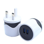 Twin Color Dual USB Wall Charger