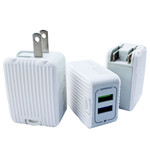 Luggage Dual USB Wall Charger