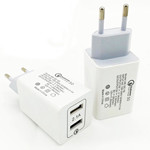 Fast Charger QC3.0+2.1A USB Wall Charger