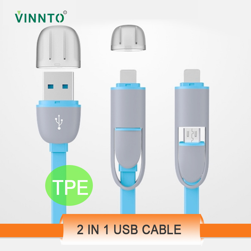 Flat 3 in 1 USB cable